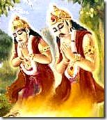 Nalakuvara and Manigriva