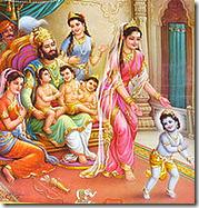 Dasharatha and family