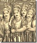 Pandava brothers
