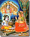 Yashoda with Krishna