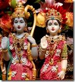 Sita and Rama in the temple