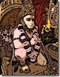 Hanuman worshiping