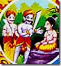 Prahlada Maharaja attacked by king's henchmen