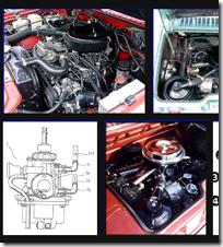Car engine internals