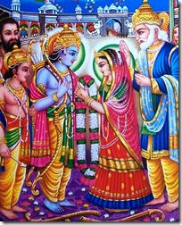 Picture of Sita and Rama