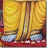 Flowers at Rama's feet