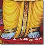 Flowers at Rama's feet
