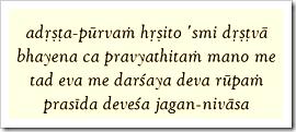 Bhagavad-gita, 11.45