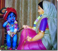 Damodara with mother Yashoda