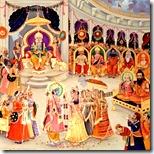 Sita and Rama's marriage