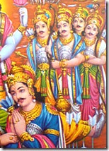 The Pandava brothers