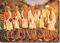 Six Gosvamis of Vrindavana