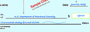 Sample check
