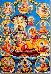 [Poster of Vishnu avataras]