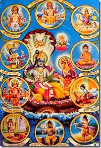 [Poster of Vishnu avataras]