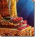 [Worship of Rama's lotus feet]