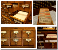 [Library card catalog]
