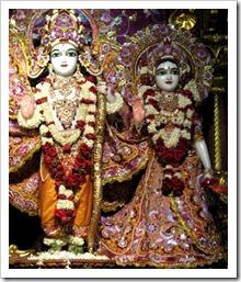 [Sita and Rama deities]