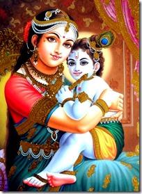[Mother Yashoda with Krishna]
