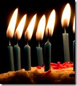 [Birthday candles]