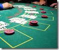 [Blackjack table]
