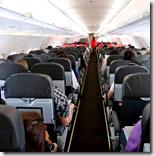 [Airplane cabin]