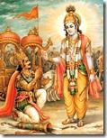 [Lord Krishna with Arjuna]