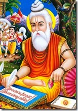 [Valmiki writing Ramayana]