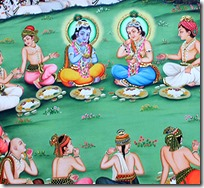 [Krishna with His friends]