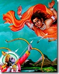 [Rama slaying demon]
