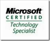 [Microsoft certification]