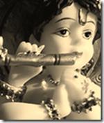 [Krishna with flute]