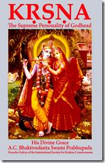 [Krishna book cover]