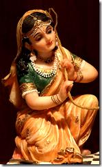 [Mother Yashoda tying Krishna]