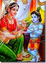 [Damodara with mother Yashoda]