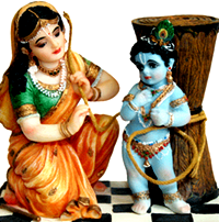 [Damodara with mother Yashoda]