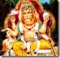 [Narasimha with Prahlada]