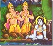 [Sons of Kuvera with Damodara]