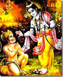 [Rama and Hanuman]