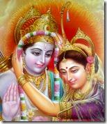 [Sita and Rama jai-mala]