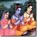[Lakshmana, Rama and Sita]