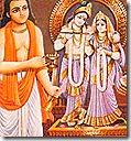[Worshiping Radha and Krishna]