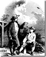 [Ben Franklin kite experiment]