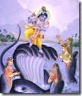 [Nagapatnis praying to Krishna]