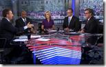 [televsion news panel]