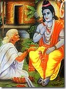 [Rama with Shabari]