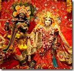 [Radha-Krishna deity worship]