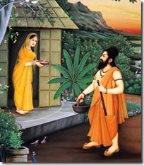 [Ravana approaching Sita]