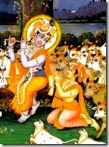 [Indra with Krishna]