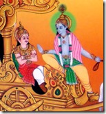 [Krishna speaking Bhagavad-gita]